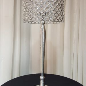 Silver_Bling_Lampshade_and_stand