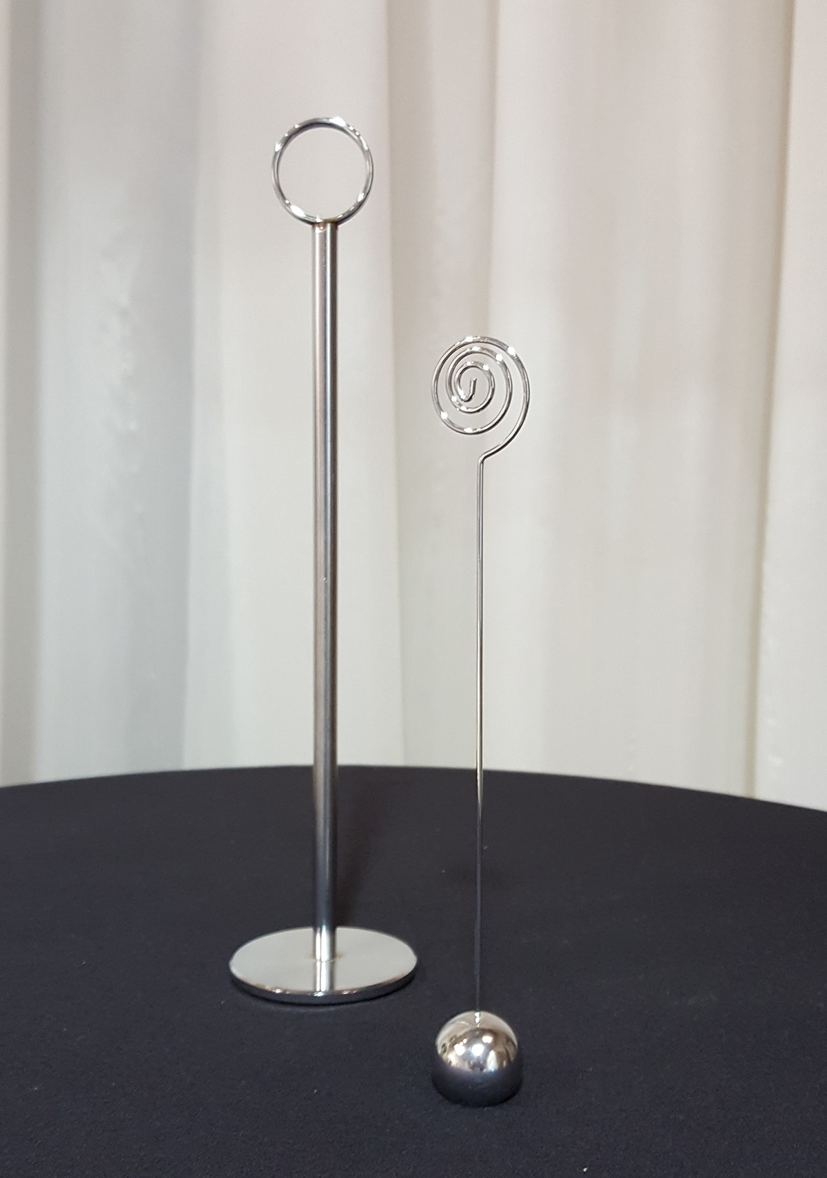Table number holders signature events for Table number holders